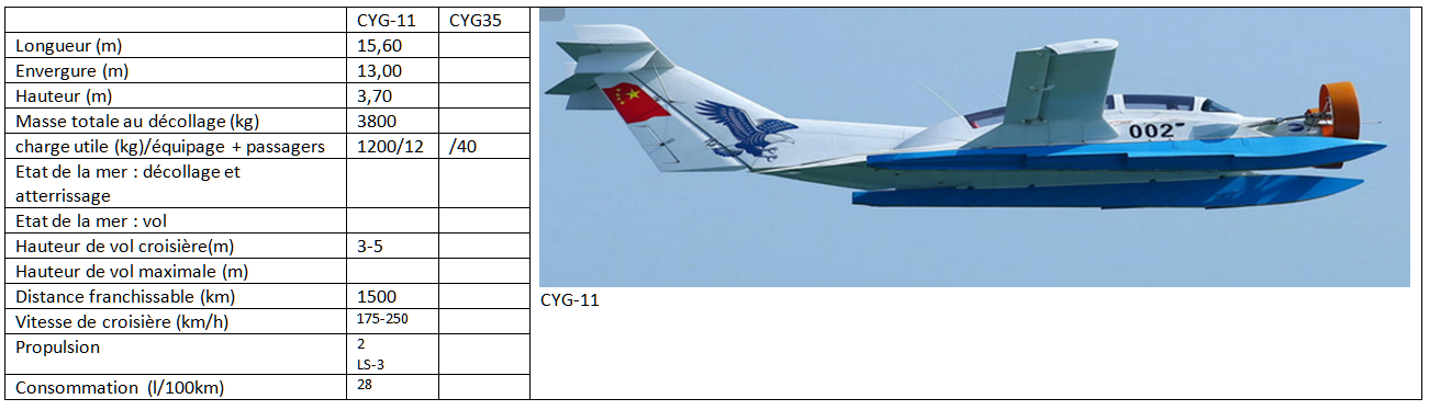 Chinese WIGs : CYG-11