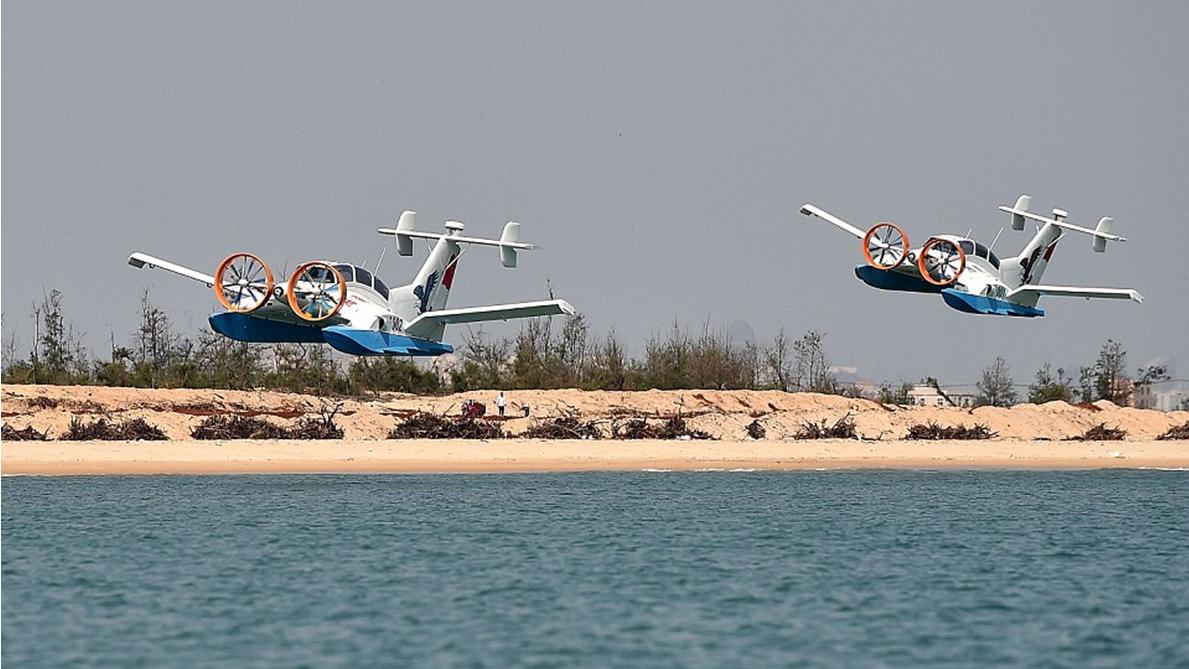 Les WIG chinois : les deux prototypes du CYG-11