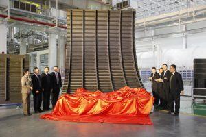 Une grande pièce entièrement réalisée en composite dans le cadre des pré-études chinoises