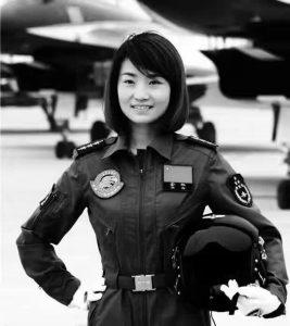 XU Yu, la première femme pilote de J-10
