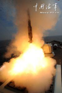 Le lancement d'un HQ-16