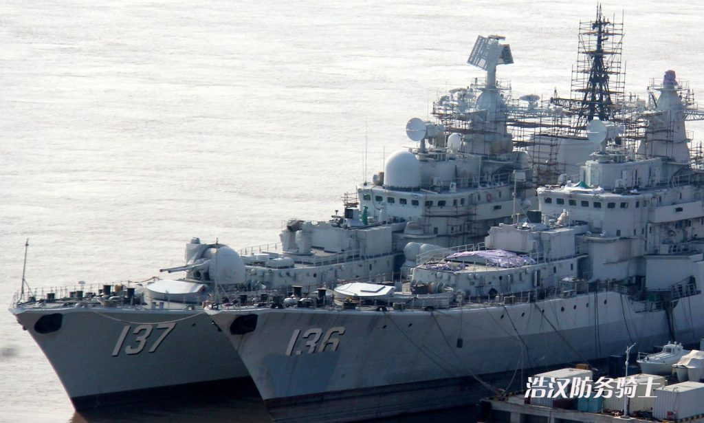 Fil Infos - PLAN - Marine Chinoise - Page 33 2016-12-19-La-Chine-transforme-son-1%E1%B5%89%CA%B3-destroyer-Projet-956-Sarych-05-1024x615