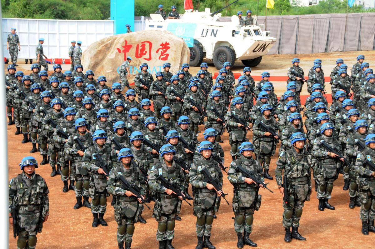 casques bleus chinois