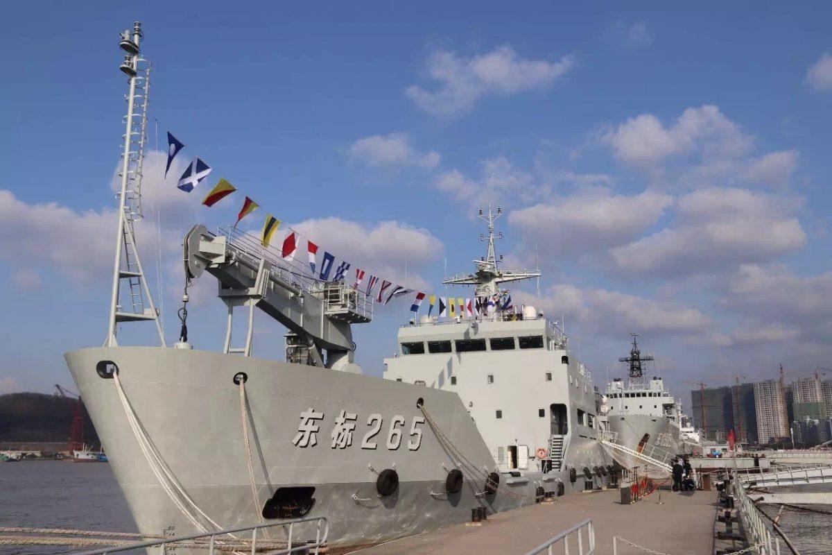 baliseur Dong Biao 265 de Type 744A