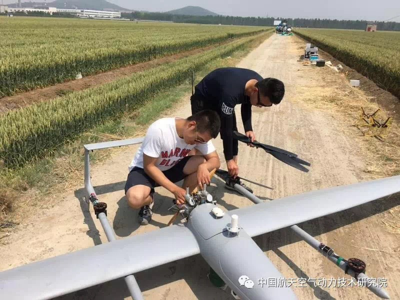 Drone hybride