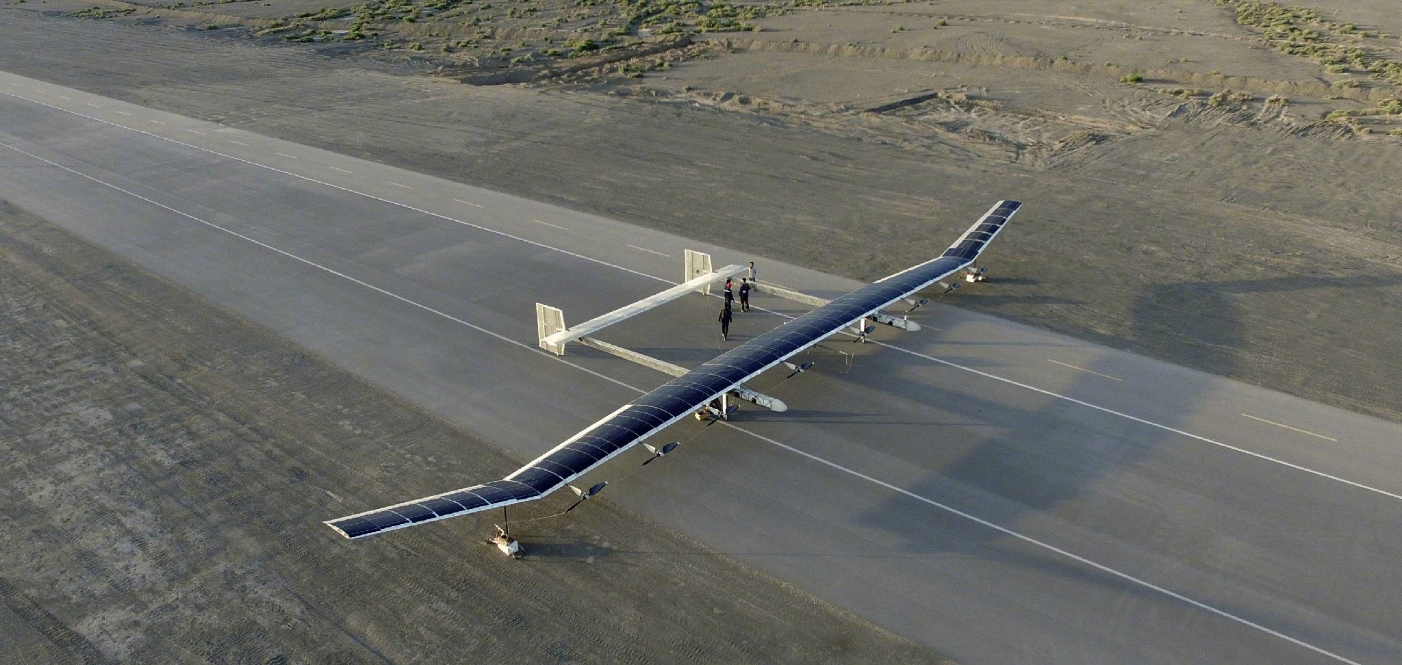Drone solaire