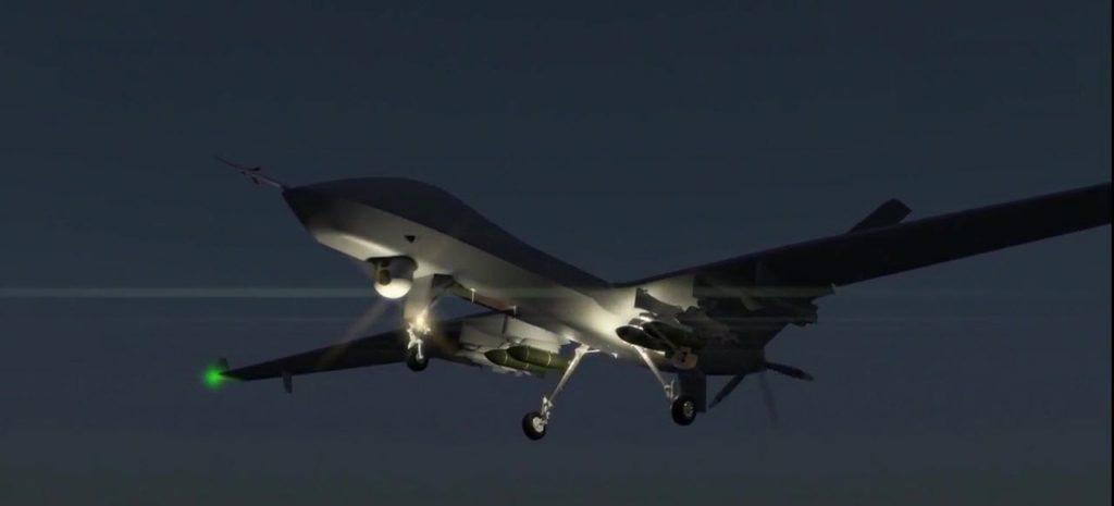 [Aviation] Drones & Drones de Combat Chinois - Page 12 2017-10-02-Le-drone-Wing-Loong-II-d%C3%A9marre-les-essais-de-tir-07-1024x465