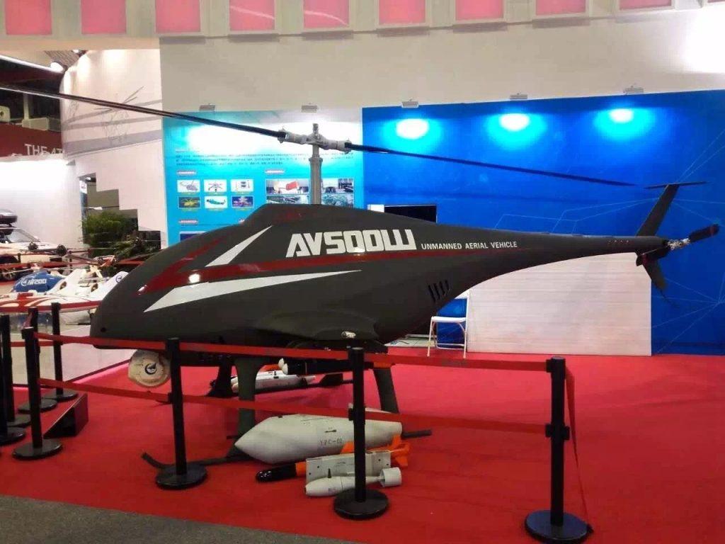 [Aviation] Drones & Drones de Combat Chinois - Page 12 2017-10-06-Le-drone-h%C3%A9licopt%C3%A8re-militaire-AV500W-%C3%A9volue-03-1024x768