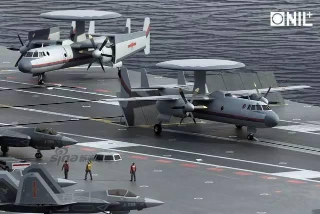 AWACS Porte-avions chine