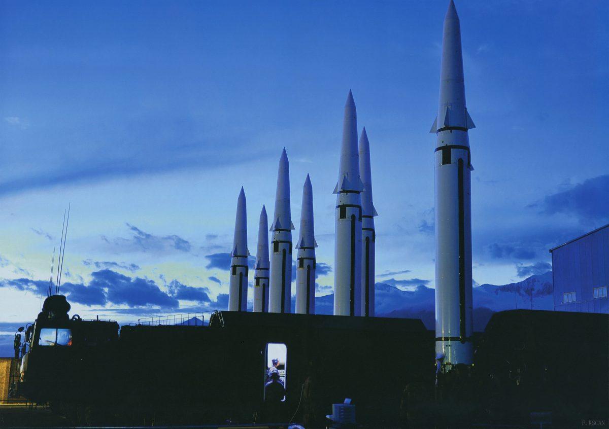 Missile balistique DF-15B